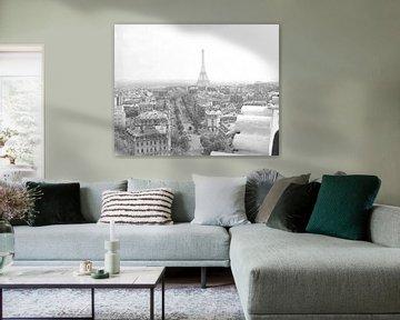 Vintage foto Parijs 1963 van Jaap Ros