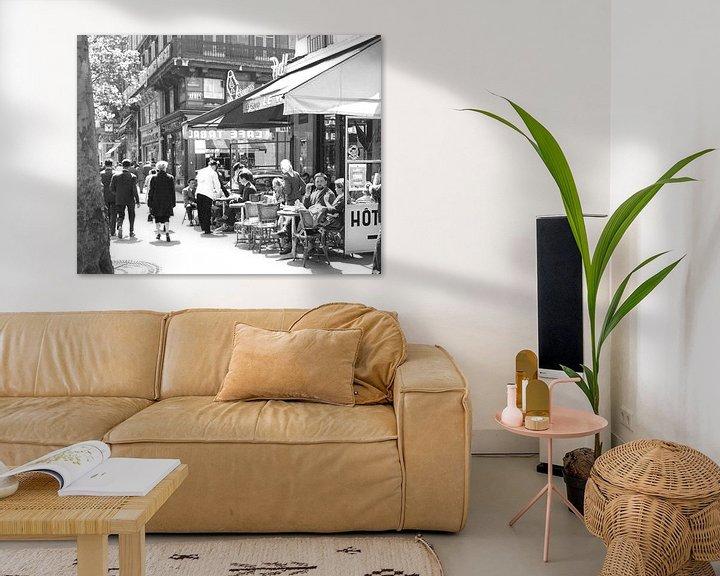 Sfeerimpressie: Vintage foto 1960 van Jaap Ros