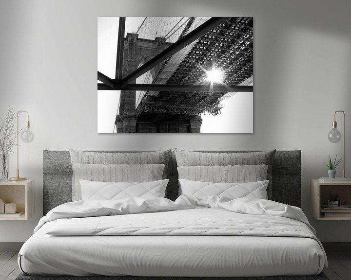 Sfeerimpressie: Brooklyn Bridge - Peekaboo van Jutta Klassen