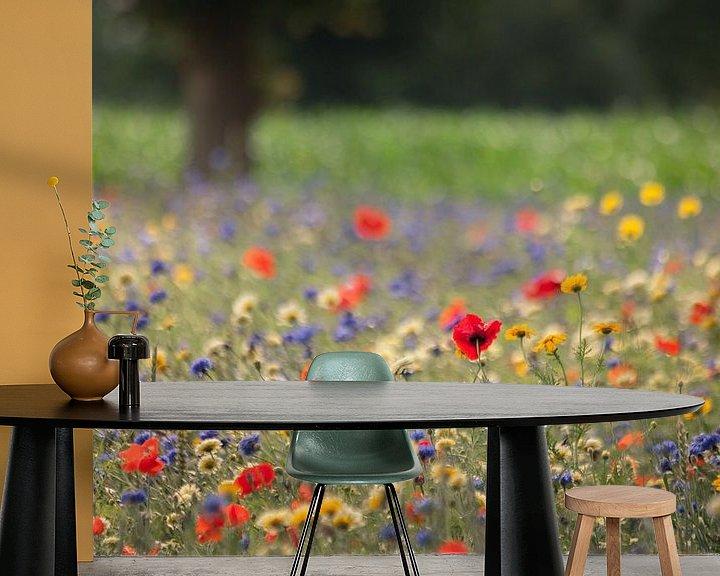 Impression: Veldbloemen in de berm sur Anneke Hooijer