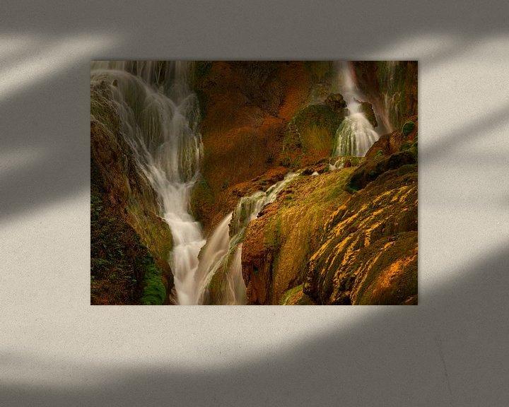 Sfeerimpressie: Golden Waterfall in Taiwan van Jos Pannekoek