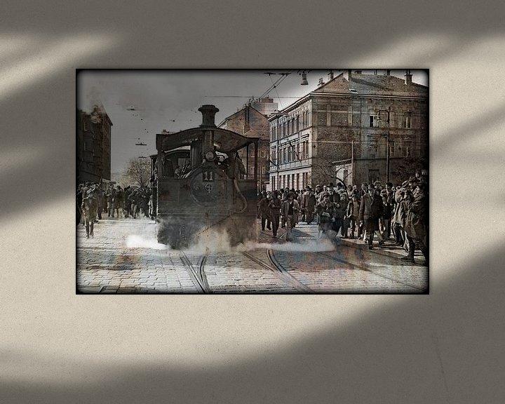 Sfeerimpressie: Steamtram nr.11 #2 van Leopold Brix