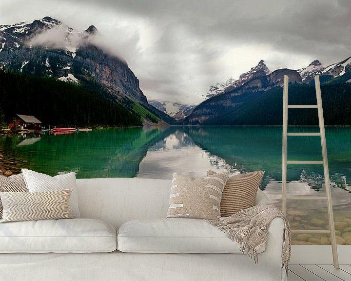 Beispiel fototapete: Lake Louisse, Alberta, Canada von Anneke Hooijer