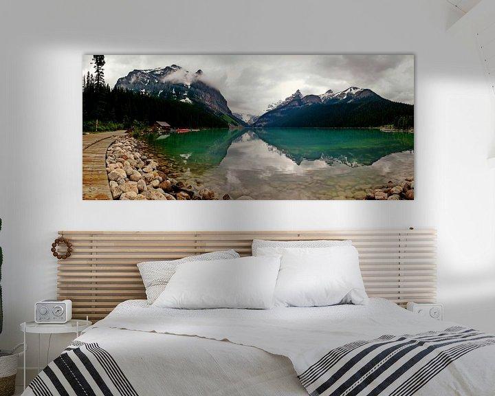 Beispiel: Lake Louisse, Alberta, Canada von Anneke Hooijer