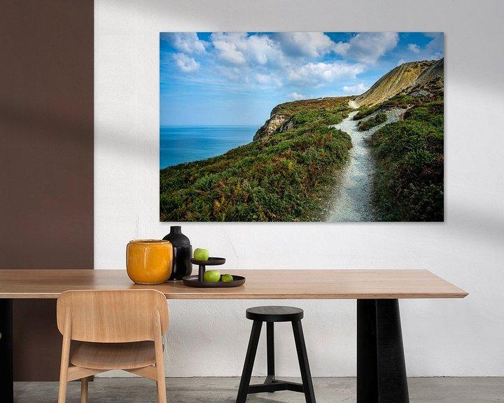 Sfeerimpressie: St Agnes, kust Zuid Engeland van Anneke Hooijer