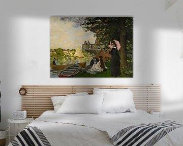 L'Embarcadère (Der Pier), Claude Monet