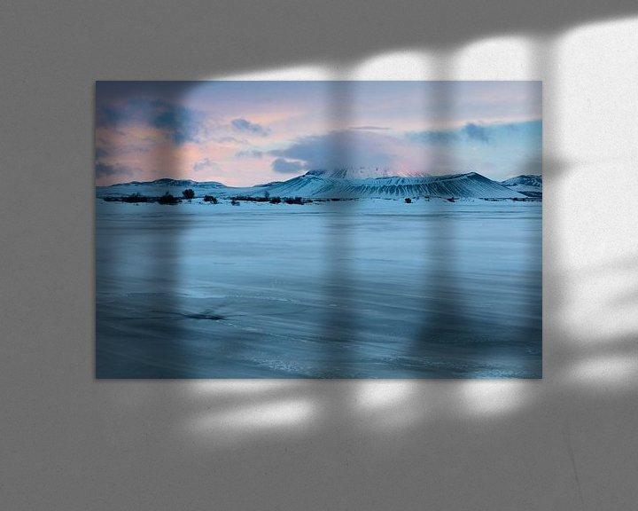 Sfeerimpressie: Sneeuw meer van Frits Hendriks