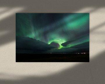 Aurora Borealis in IJsland von Frits Hendriks