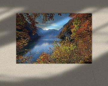 Der Königssee im Herbst van Bernhard Kaiser