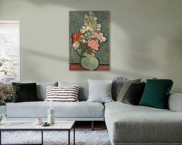 Vincent van Gogh, Vase mit Blumen