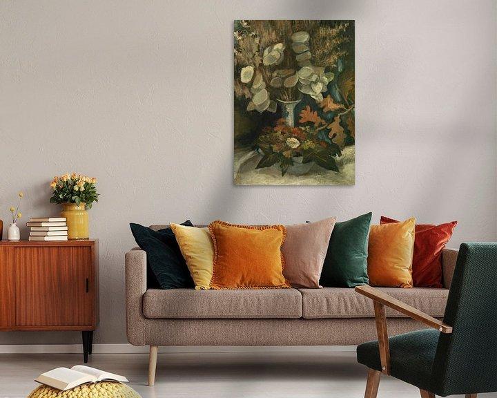 Sfeerimpressie: Vincent van Gogh, Vaas met judaspenningen