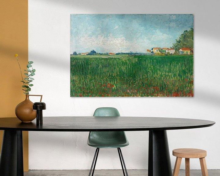 Sfeerimpressie: Vincent van Gogh, Veld met klaprozen