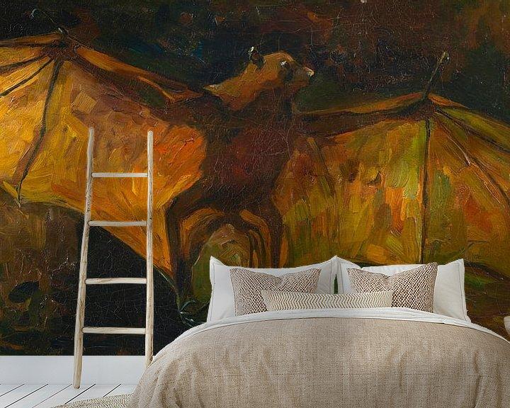 Sfeerimpressie behang: Vincent van Gogh, Vleermuis