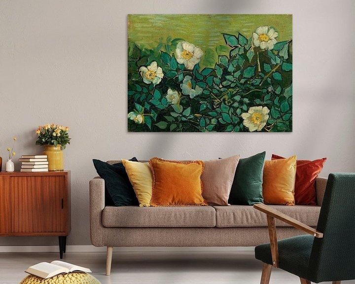 Sfeerimpressie: Vincent van Gogh, Wilde rozen