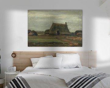 Vincent van Gogh, Farm mit Torfhaufen