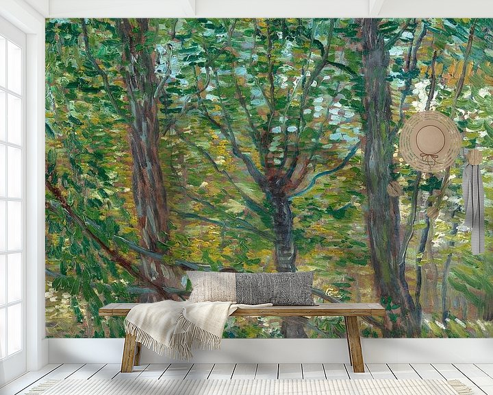 Sfeerimpressie behang: Vincent van Gogh, Bomen