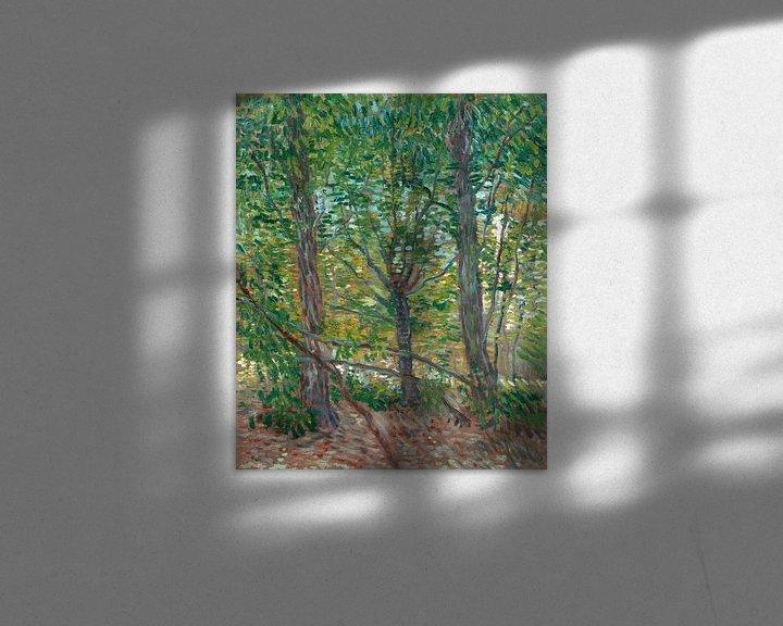 Sfeerimpressie: Vincent van Gogh, Bomen
