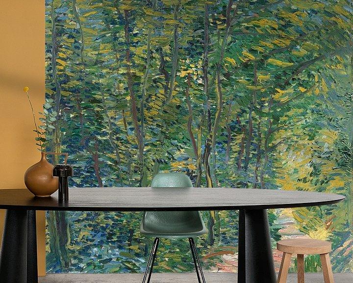 Sfeerimpressie behang: Vincent van Gogh, Bospad