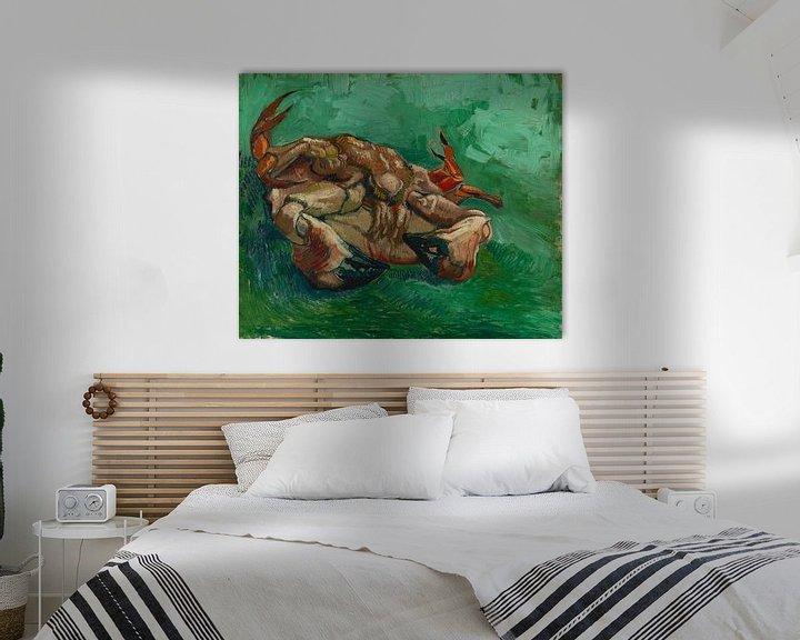 Sfeerimpressie: Vincent van Gogh, Crustacean, liggend op zijn rug