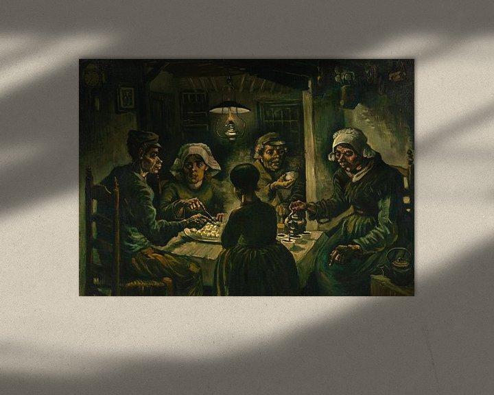 Sfeerimpressie: Vincent van Gogh, De aardappeleters