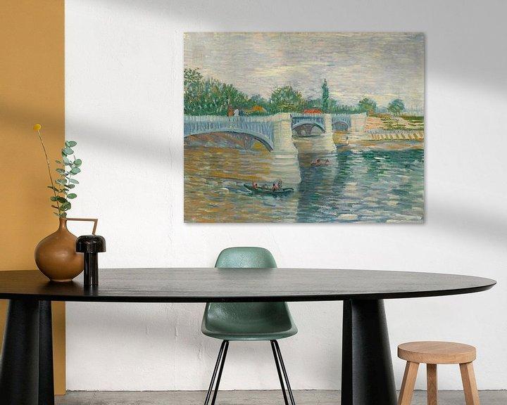 Sfeerimpressie: Vincent van Gogh, De brug bij Courbevoie