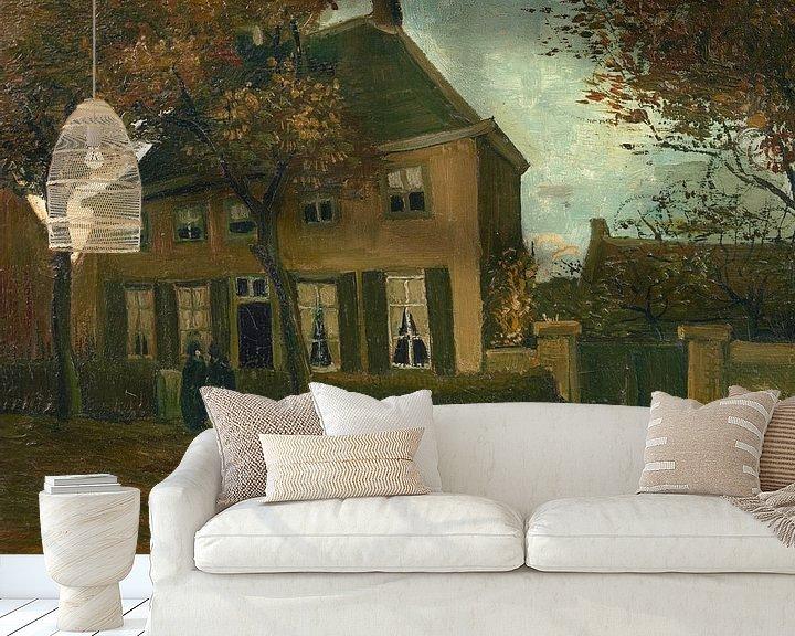 Sfeerimpressie behang: Vincent van Gogh, De pastorie te Nuenen
