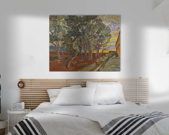 Sfeerimpressie: Vincent van Gogh, De tuin van de inrichting