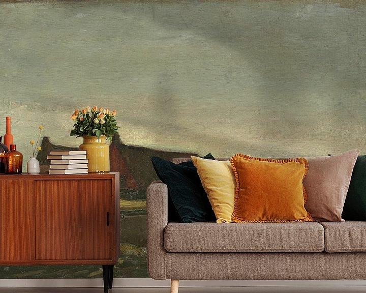Sfeerimpressie behang: Vincent van Gogh, Hutten