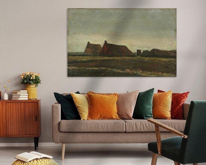 Sfeerimpressie: Vincent van Gogh, Hutten