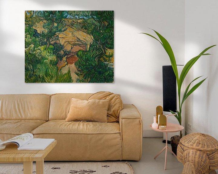 Beispiel: Vincent van Gogh, Eingang zu einem Steinbruch