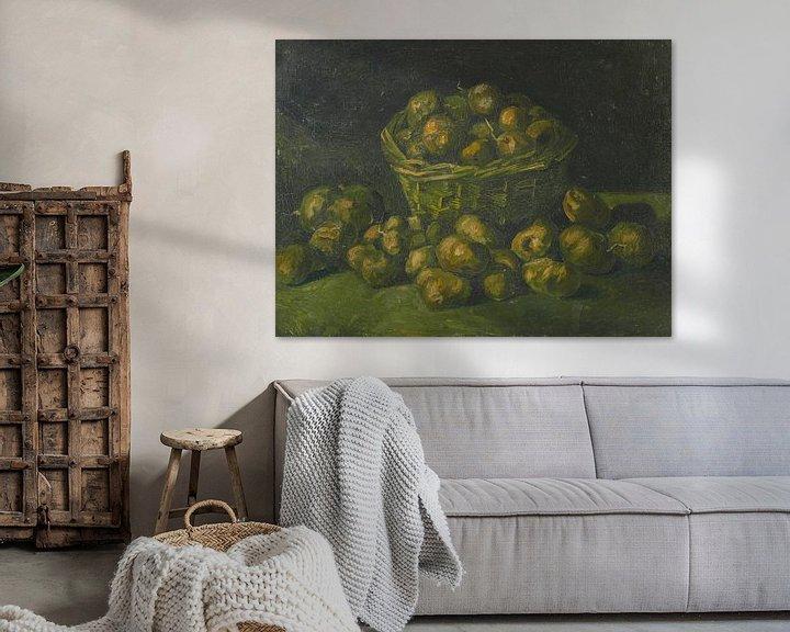 Beispiel: Vincent van Gogh, Korb mit Kartoffeln