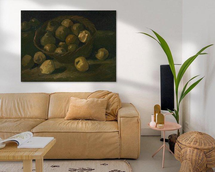 Sfeerimpressie: Vincent van Gogh, Mand met appels