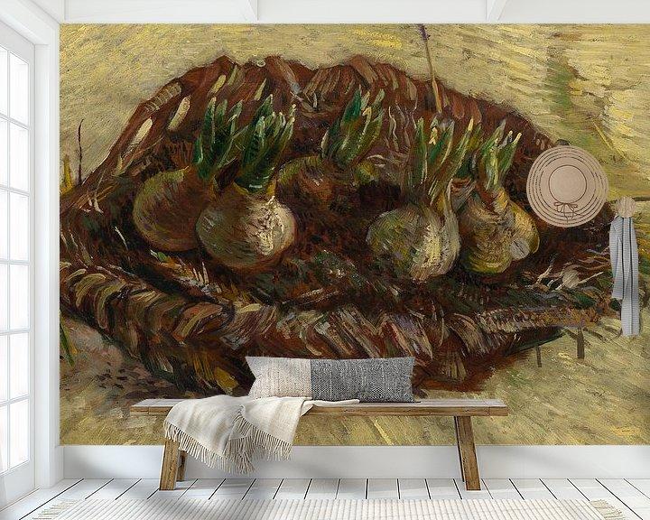 Sfeerimpressie behang: Vincent van Gogh, Mand met hyacintbollen