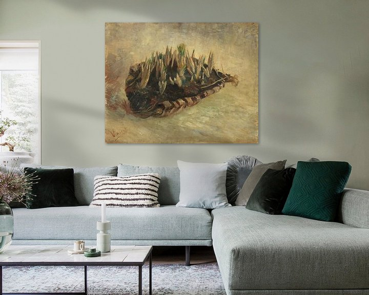 Beispiel: Vincent van Gogh, Korb mit Krokuszwiebeln
