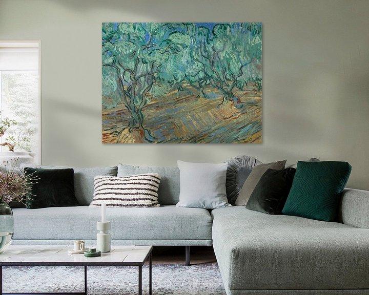 Sfeerimpressie: Vincent van Gogh, Olijfgaard