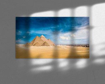 Pyramiden von Gizeh von Günter Albers