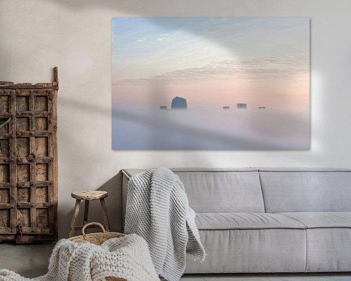 Sfeerimpressie: Torens in de Mist van Frenk Volt