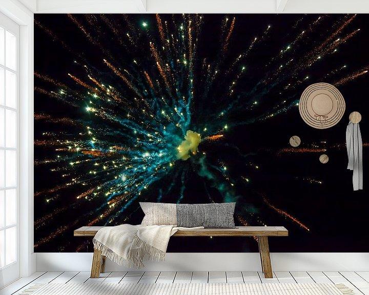 Sfeerimpressie behang: Big Bang van Nanouk el Gamal - Wijchers (Photonook)