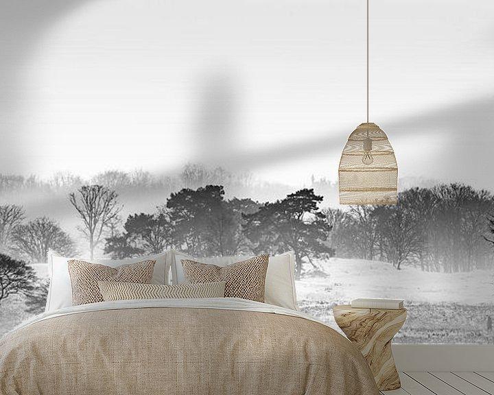 Sfeerimpressie behang: Misty Sunday van Nanouk el Gamal - Wijchers (Photonook)