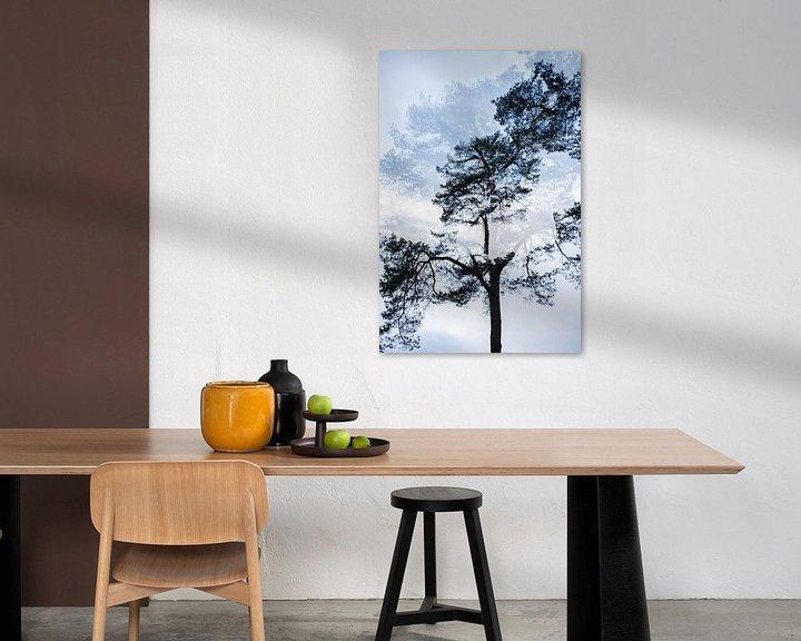 Sfeerimpressie: Dubbelbeeld boom nr. 3 van Marjan van Herpen