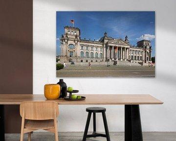 Berliner Reichstagsgebäude von Torsten Krüger