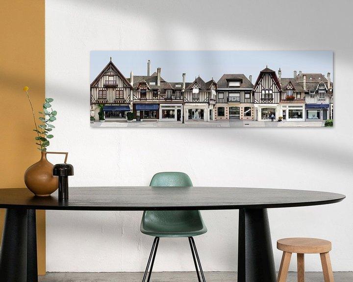 Beispiel: Deauville Fachwerk | Rue de Casino von Panorama Streetline