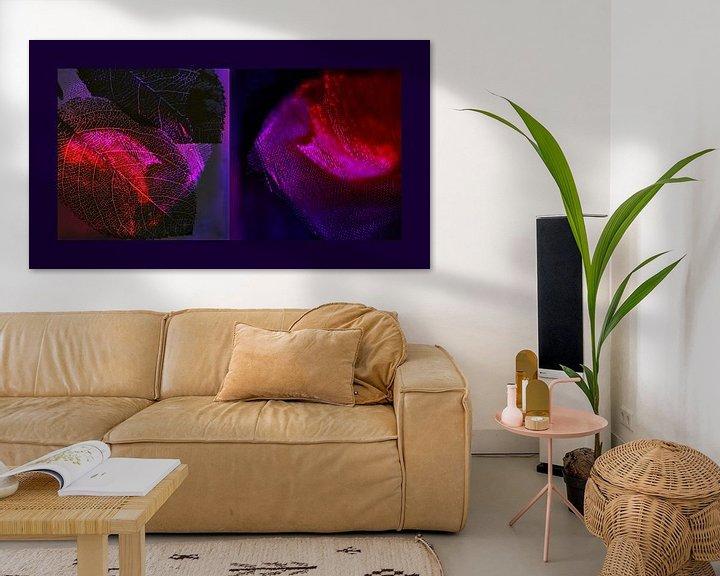 Sfeerimpressie: symphonie in paars en roze van Hanneke Luit