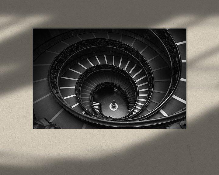 Sfeerimpressie: Bramante trap van Jaco Verheul