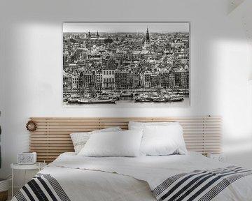 Amsterdam aan de Prins Hendrikkade von Peter Bijsterveld