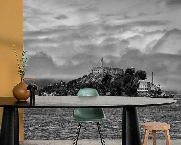 Beispiel fototapete: alcatraz san francisco amerika von Jan Pel