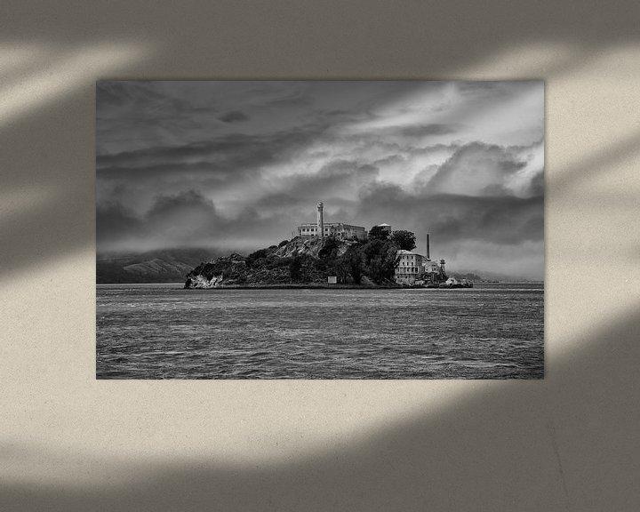 Beispiel: alcatraz san francisco amerika von Jan Pel