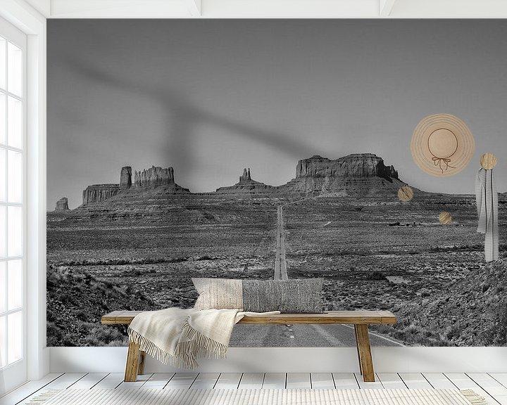 Beispiel fototapete: monument valley amerika von Jan Pel