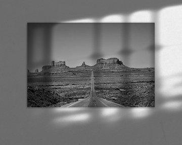 monument valley amerika van Jan Pel
