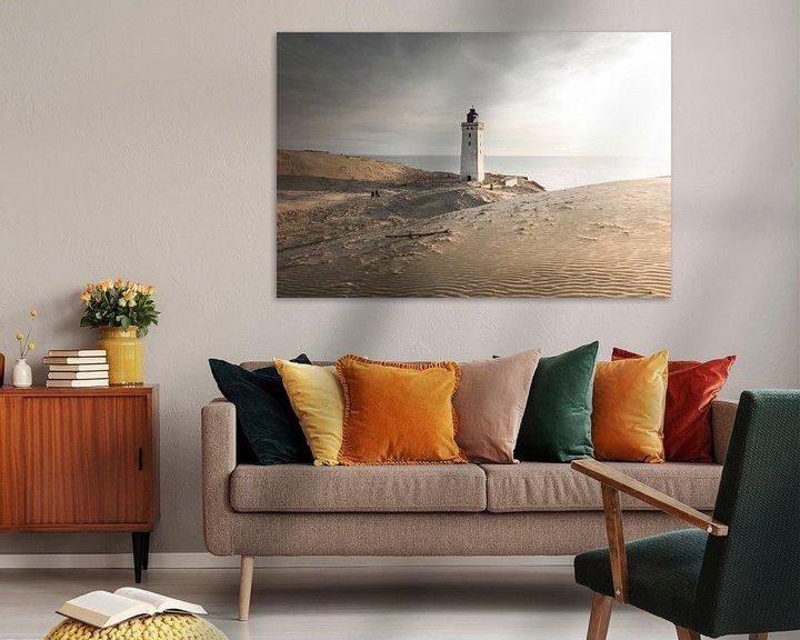 Sfeerimpressie: Rubjerg Knude vuurtoren, Denemarken van Claire Droppert
